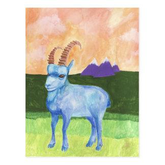Cartão Postal íbex