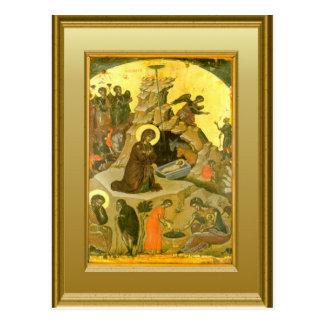 Cartão Postal Ícone da natividade