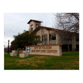Cartão Postal Ícone de Folsom: Centro cívico e câmara municipal