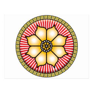Cartão Postal Ícone de Lotus