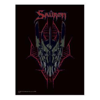 Cartão Postal Ícone de Sauron