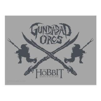 Cartão Postal Ícone do filme de Gundabad Orcs