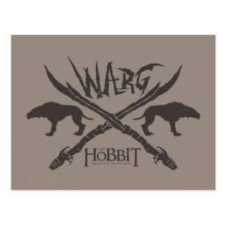 Cartão Postal Ícone do filme de Warg