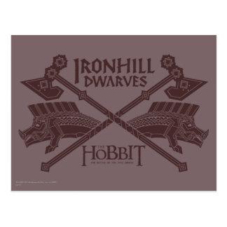 Cartão Postal Ícone do filme dos anões de Ironhill