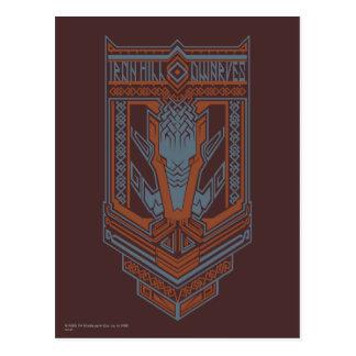 Cartão Postal Ícone do protetor dos anões de Ironhill