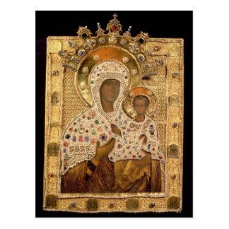 Cartão Postal Ícone do Virgin, monastério de Smolenskaja