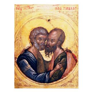 Cartão Postal Ícone dos SS. Peter e Paul
