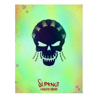 Cartão Postal Ícone principal do pelotão   Slipknot do suicídio