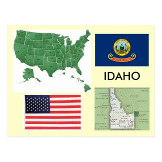 Cartão Postal Idaho, EUA