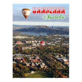 Cartão Postal Ideia aérea da capital de Canberra - de Austrália