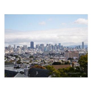 Cartão Postal Ideia da skyline de San Francisco