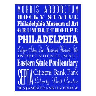 Cartão Postal Ideia do presente de Philadelphfia original,
