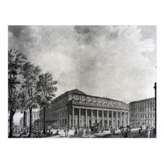 Cartão Postal Ideia do teatro grande, Bordéus