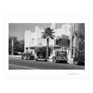 Cartão Postal Ideia exterior do teatro de Fontana