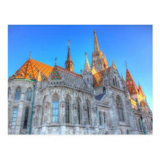 Cartão Postal Igreja Budapest de Mathias