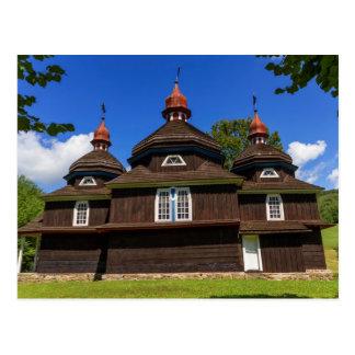Cartão Postal Igreja Católica grega, Nizny Komarnik, Slovakia