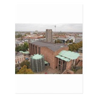 Cartão Postal Igreja da catedral de St Michael, Coventry,