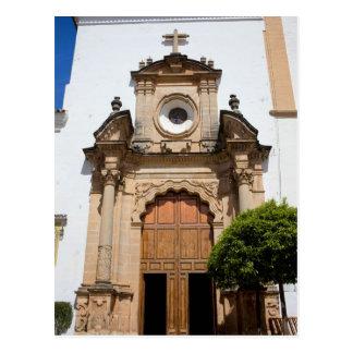 Cartão Postal Igreja da encarnação em Marbella
