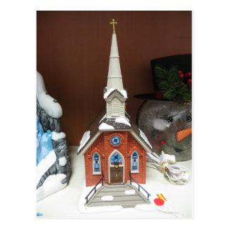 Cartão Postal Igreja da vila do Natal
