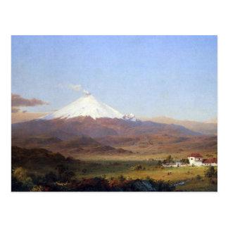 Cartão Postal Igreja de Frederic Edwin - Cotopaxi Equador
