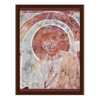 Cartão Postal Igreja de Freskenzylus St John na cena Ap de