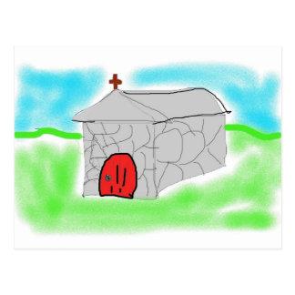 Cartão Postal Igreja de pedra