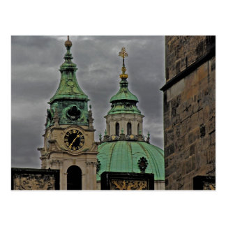 Cartão Postal Igreja de São Nicolau, Praga