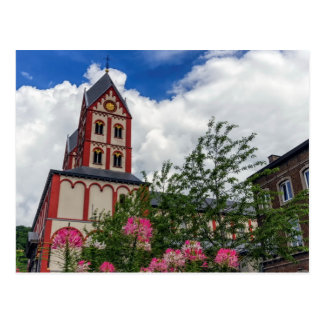 Cartão Postal Igreja de St Bartholomew, Liege, Bélgica