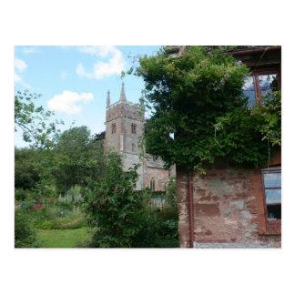 Cartão Postal Igreja de St Thomas de Canterbury, Cothelstone,