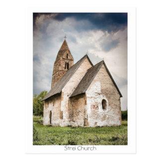 Cartão Postal Igreja de Strei