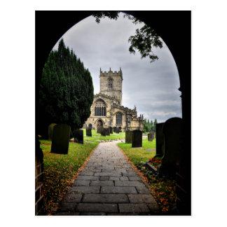 Cartão Postal igreja do ecclesfield