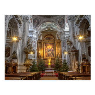 Cartão Postal Igreja dominiquense Viena Áustria