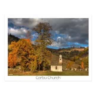 Cartão Postal Igreja em Corbu