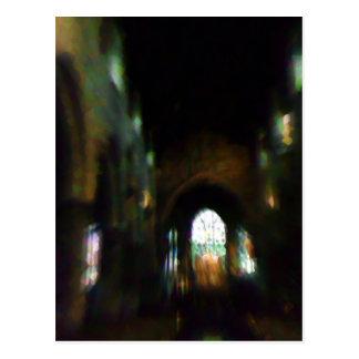 Cartão Postal Igreja escura