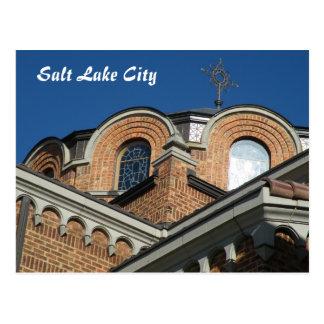 Cartão Postal Igreja ortodoxa da trindade santamente