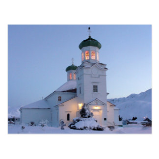 Cartão Postal Igreja ortodoxo russo, Natal