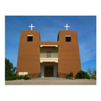 Cartão Postal Igreja Santa Fé, New mexico