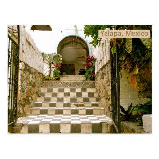 Cartão Postal Igreja velha - Yelapa, México