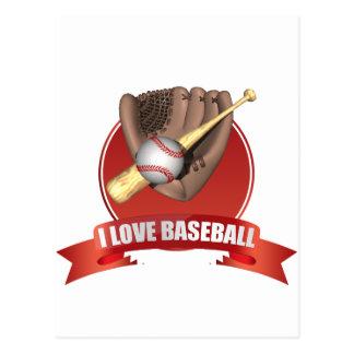 Cartão Postal iGuide do basebol
