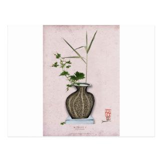 Cartão Postal Ikebana 5 por fernandes tony