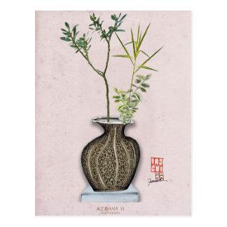 Cartão Postal Ikebana 6 por fernandes tony