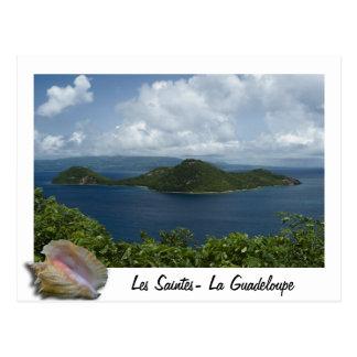 Cartão Postal Ilets cabri- os Santo Guadeloupes