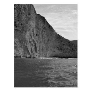 Cartão Postal Ilha 4 de B&W Zakynthos