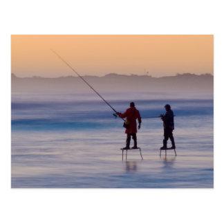 Cartão Postal ilha da cunha (pescadores da plataforma)