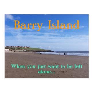 Cartão Postal Ilha de Barry