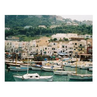 Cartão Postal Ilha de Capri