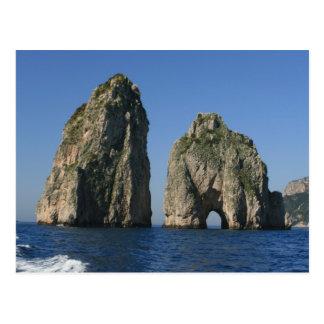 Cartão Postal Ilha de Capri, Faraglioni