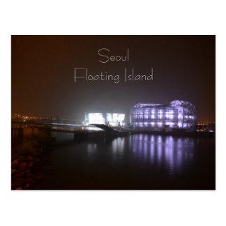 Cartão Postal Ilha de flutuação