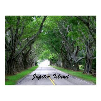 Cartão Postal Ilha de Jupiter