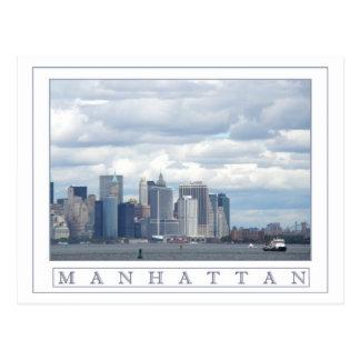 Cartão Postal Ilha de Manhattan